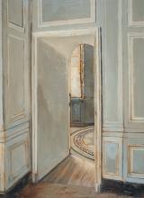 """<h5>Vestibule</h5><p>Oil on canvas, 26"""" x 19"""" (66 x 48cm)</p>"""