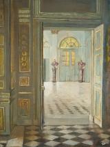 """<h5>Little Versailles</h5><p>Oil on linen, 16"""" x 12"""" (41 x 30cm)</p>"""