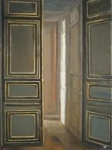 "<h5>Hallway</h5><p>Oil on linen, 16"" x 12"" (41 x 30cm)</p>"