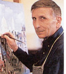 Photograph of artist Michel Delacroix