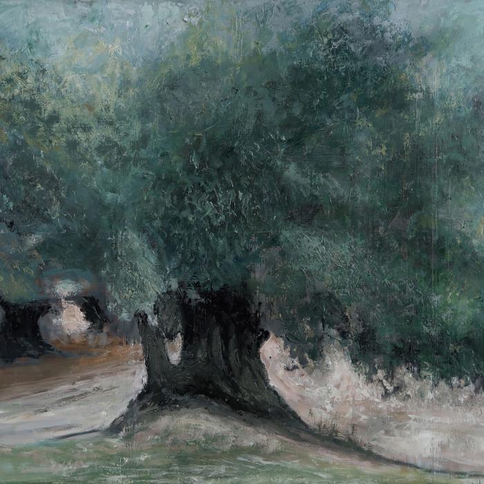Oil on canvas painting by Hugo Galerie artist Albert Hadjiganev.
