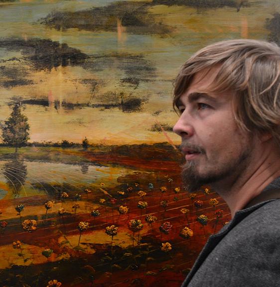 Photograph of artist Jernej Forbici