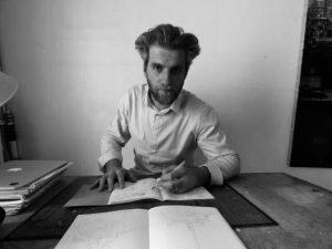 Photograph of artist Guillaume Chansarel