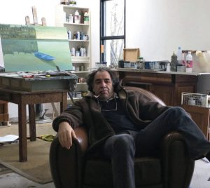Philippe Charles Jacquet in the studio
