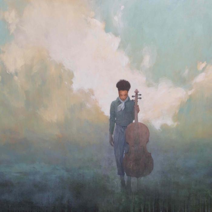 """""""Requiem"""", acrylic on canvas, 48"""" x 100"""" (122 x 254cm)"""