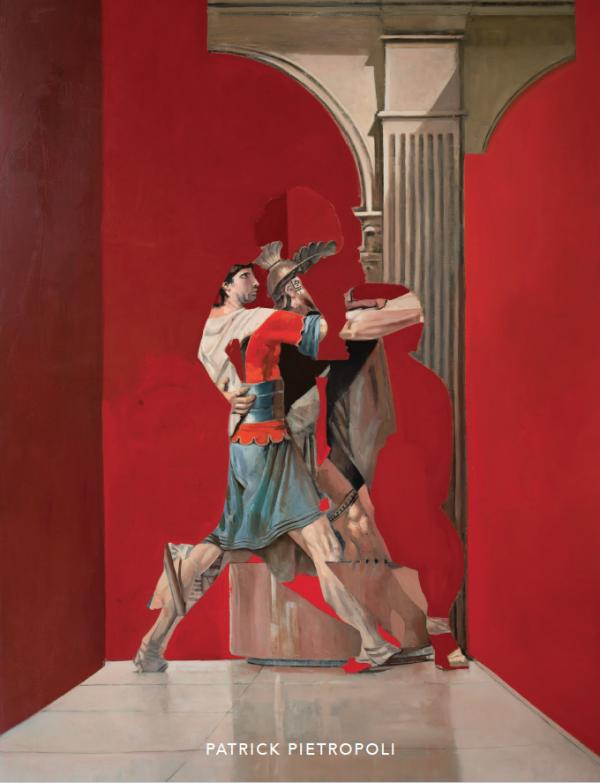 "Patrick Pietropoli ""Coincidences"" 2019 Hugo Galerie exhibition catalog cover."