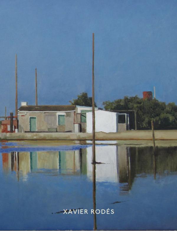 "Xavier Rodés ""L'Instant"" 2019 Hugo Galerie exhibition catalog cover."