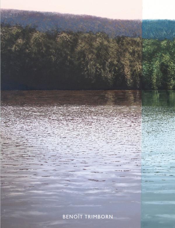 """Benoît Trimborn """"Le Chant de la Terre"""" 2019 Hugo Galerie exhibition catalog cover."""
