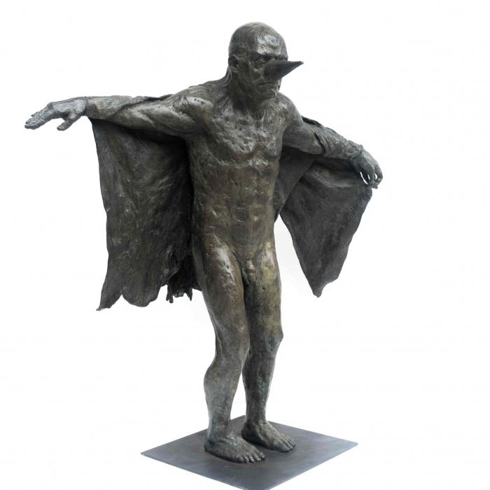 Bronze sculpture by Hugo Galerie artist Beth Carter.