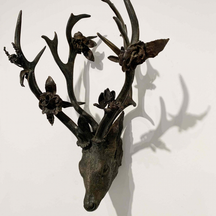 Bronze sculpture by Hugo Galerie artist Beth Carter.