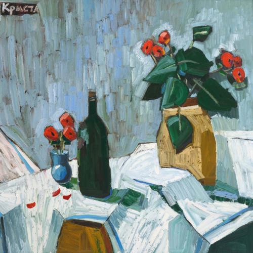 Oil painting by Hugo Galerie artist Christa Kirova.