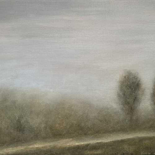 Oil on canvas painting by Hugo Galerie artist Louise Laffaille.