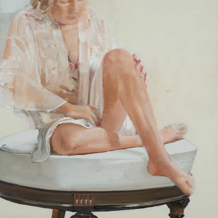 Oil on canvas painting by Hugo Galerie artist Patrick Pietropoli.