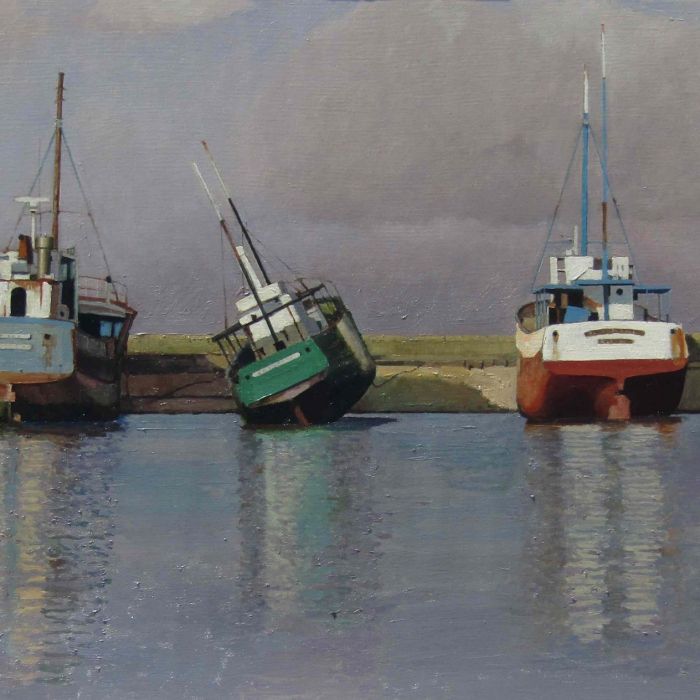 Oil on canvas painting by Hugo Galerie artist Xavier Rodés.