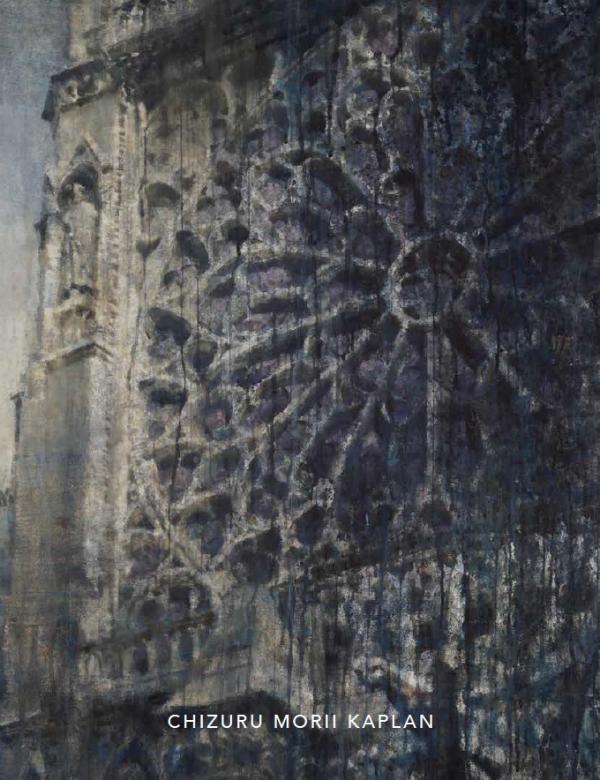 """Chizuru Morii Kaplan's """"Sous le Ciel de Paris"""" 2021 Hugo Galerie exhibition catalog cover."""