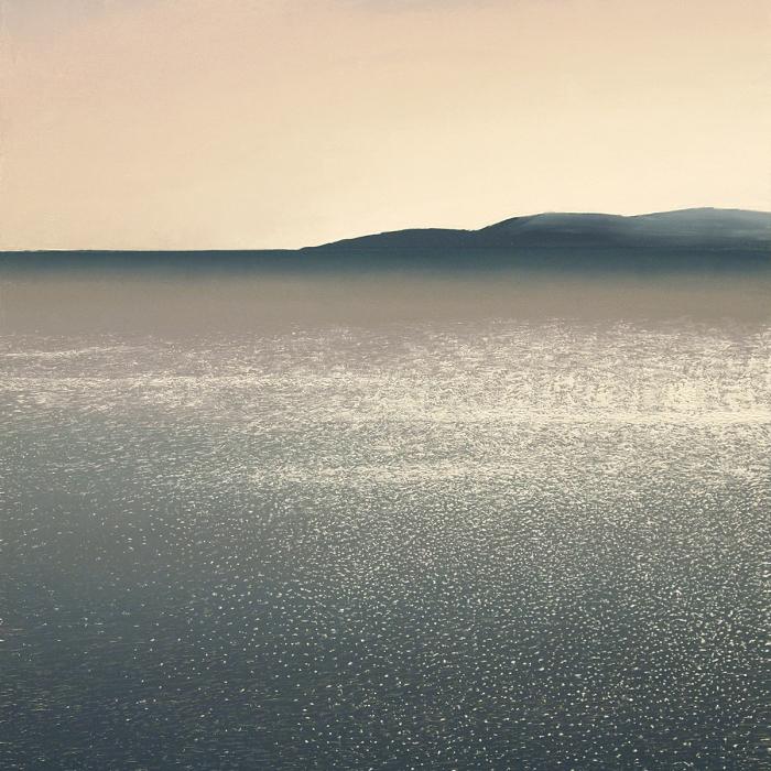 """""""Agios Georgios"""", oil on canvas, 78¾"""" x 47¼"""" (200 x 120cm)"""