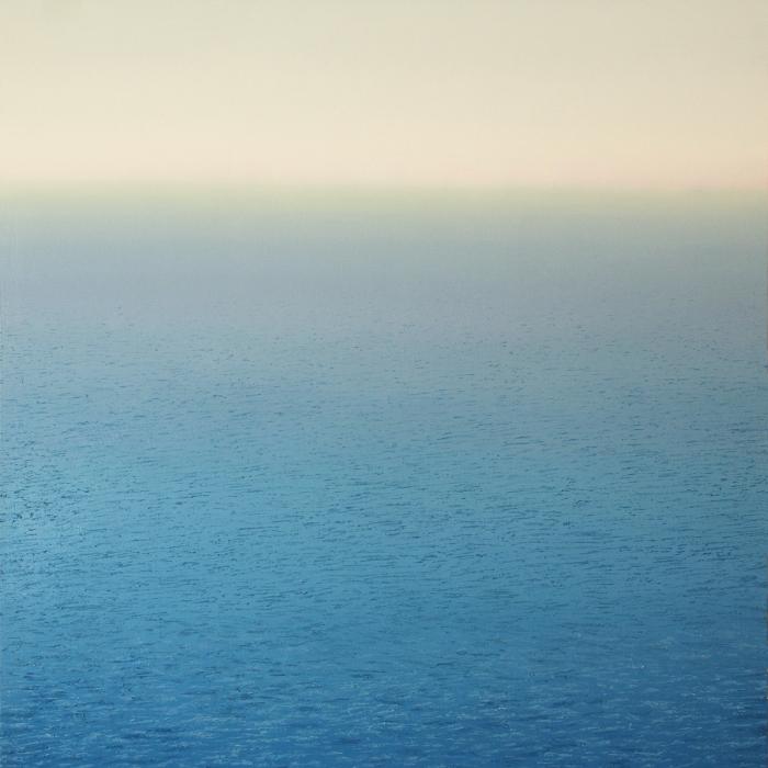 """""""Egée"""", oil on canvas, 63"""" x 49"""" (160 x 125 cm)"""