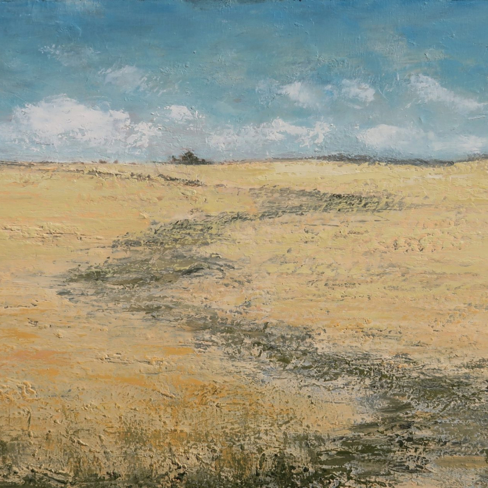 """""""Eté"""", oil on canvas, 27½"""" x 55"""" (70 x 140cm)"""