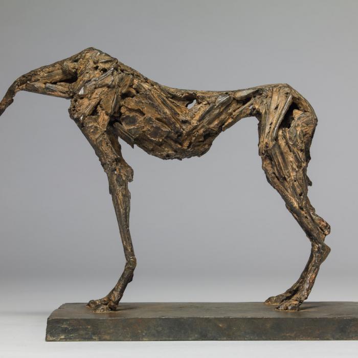 """""""Untitled I"""", bronze, 11"""" x 8¼"""" x 2¾"""" (28 x 21 x 7cm)"""