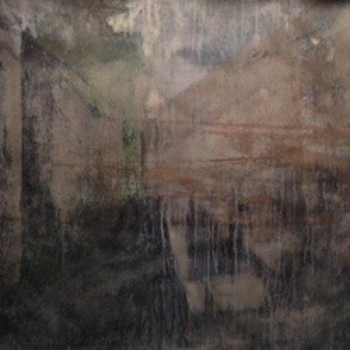 """""""Beijing"""", watercolor on paper, 40"""" x 50"""" (100 x 127cm)"""