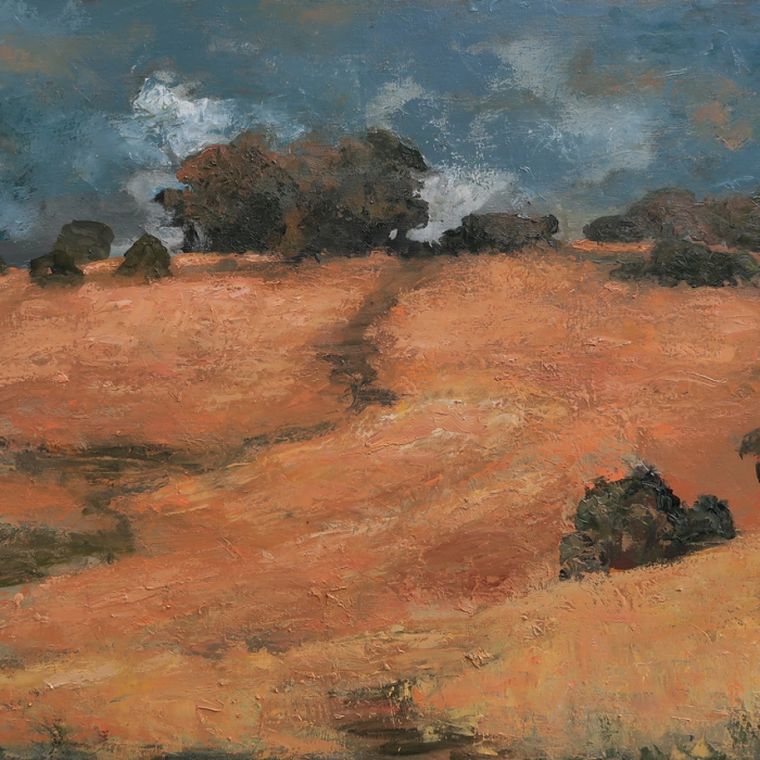"""Arroyo Seco"", oil on canvas, 38"" x 51"" (97 x 130 cm)"
