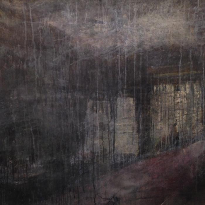 """Brooklyn"", watercolor on paper, 40"" x 52"" (100 x 132cm)"