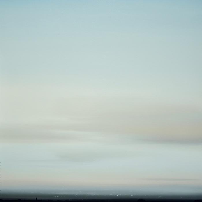 """Compleja Sencillez"", Oil on board, 31½ x 31½ (80 x 80cm)"