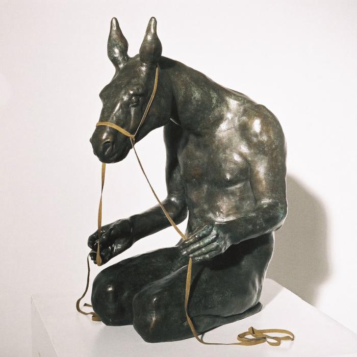 """Free Reign"", Bronze, 32 x 22 x 15 (81.3 x 55 x 38cm)"