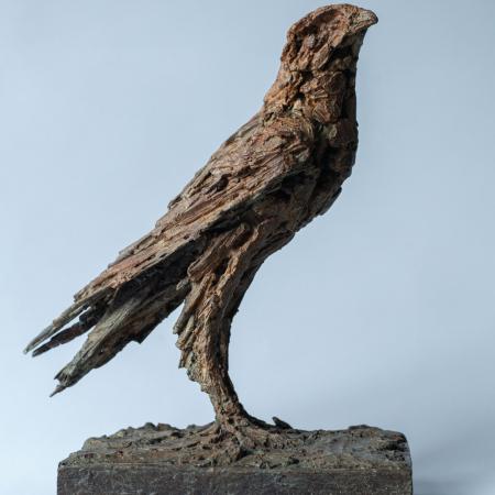 """""""Hafoc"""", bronze, 10½"""" x 13"""" x 6¼"""" (27 x 33 x 16cm)"""