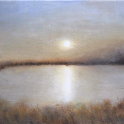 """""""Douceur d'automne"""", oil on canvas, 25½"""" x 32"""" (65x81cm)"""