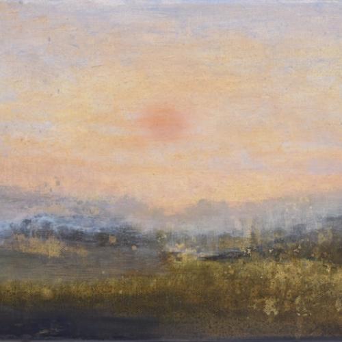 """""""Les lendemains"""", oil on canvas, 11½"""" x 9"""" (30x23cm)"""