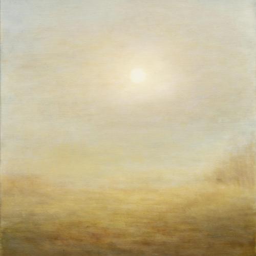 """""""L'or du jour"""", oil on canvas, 18"""" x 21½"""" (45x55cm)"""